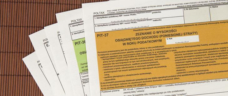 Zezniania podatkowe