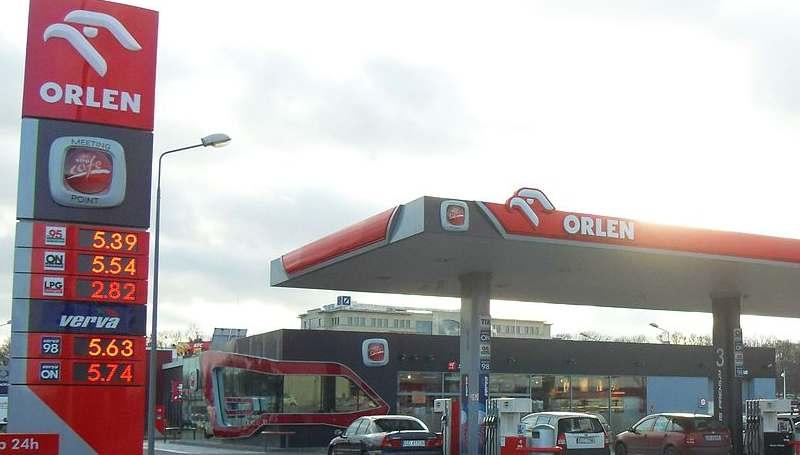 Stacja Orlen w Gdańsku