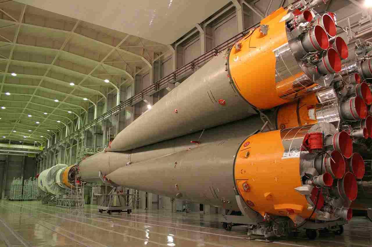 Ilustracja: na zdjęciu rakieta Sojuz